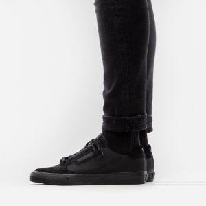 נעלי סניקרס אדידס לגברים Adidas Originals Continental Vulc - שחור