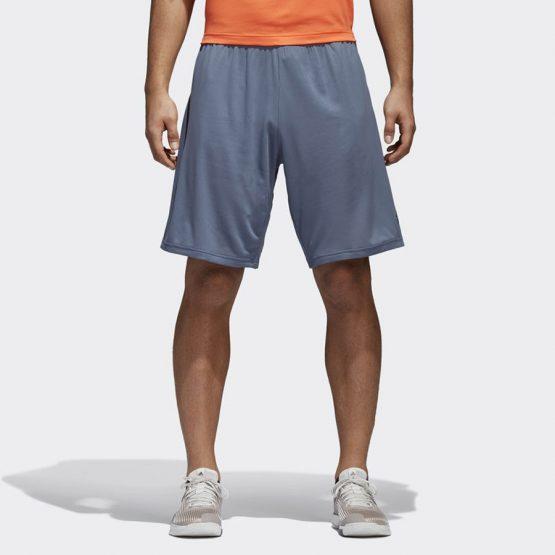 ביגוד אדידס לגברים Adidas 4 Kraft Short Chill - אפור כהה