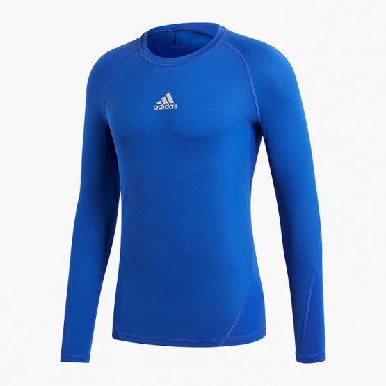 ביגוד אדידס לגברים Adidas ALPHASKIN - כחול