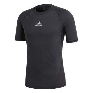 ביגוד אדידס לגברים Adidas ALPHASKIN - שחור
