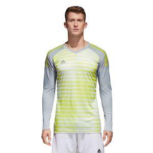ביגוד אדידס לגברים Adidas Adipro 18 GK - לבן/צהוב