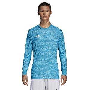 ביגוד אדידס לגברים Adidas Adipro 19 GK - כחול