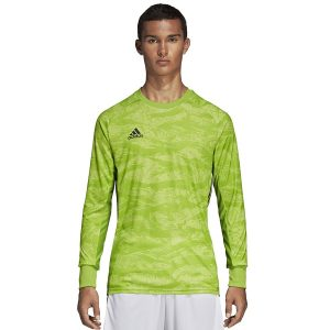 ביגוד אדידס לגברים Adidas Adipro 19 GK - ירוק