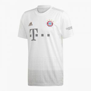 חולצת T אדידס לגברים Adidas BAYERN MONACHIUM AWAY - לבן