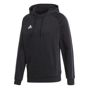 ביגוד אדידס לגברים Adidas CORE 18 HOODY - שחור