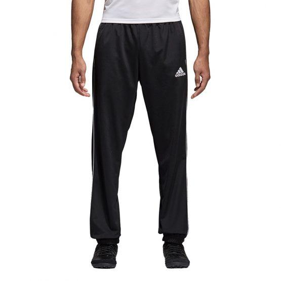 ביגוד אדידס לגברים Adidas CORE 18 PES PNT - שחור