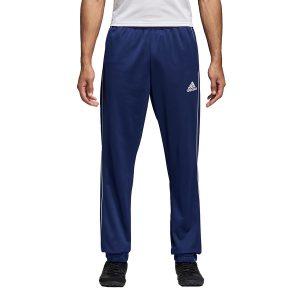 ביגוד אדידס לגברים Adidas CORE 18 PES PNT - כחול כהה