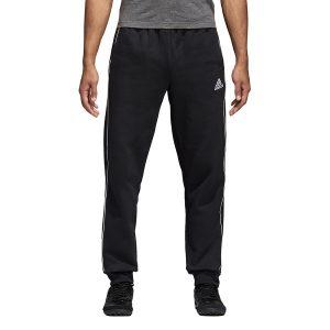 ביגוד אדידס לגברים Adidas CORE 18 SW PNT - שחור
