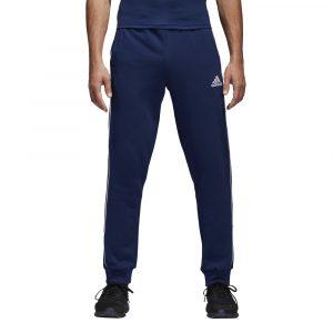 ביגוד אדידס לגברים Adidas CORE 18 SW PNT - כחול