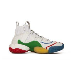 נעליים אדידס לגברים Adidas CRAZY BYW LVL X PW - צבעוני