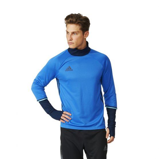 ביגוד אדידס לגברים Adidas Condivo 16 TRG Top - כחול