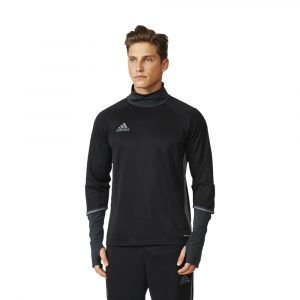 ביגוד אדידס לגברים Adidas Condivo 16 TRG Top - שחור