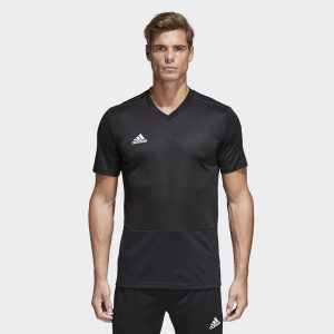 ביגוד אדידס לגברים Adidas Condivo 18 JSY - שחור