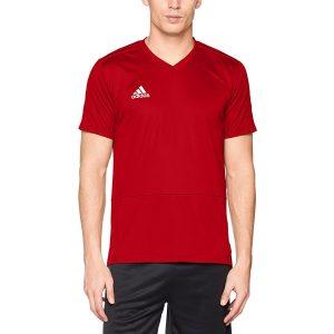 ביגוד אדידס לגברים Adidas Condivo 18 TR - אדום יין