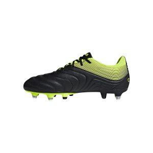 נעליים אדידס לגברים Adidas   Copa 19.3 SG  - שחור/צהוב