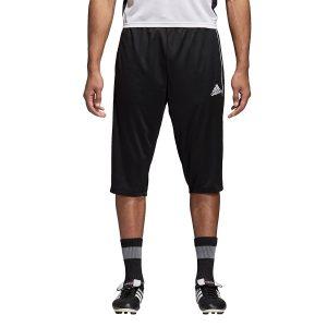 ביגוד אדידס לגברים Adidas Core 18 3/4 PNT - שחור