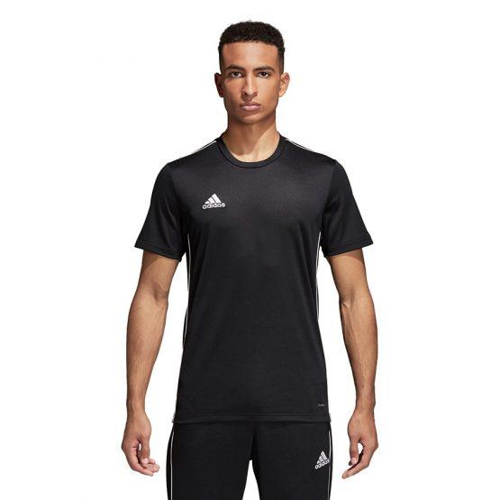 חולצת אימון אדידס לגברים Adidas Core 18 JSY - שחור