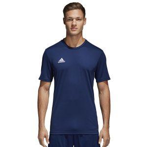 ביגוד אדידס לגברים Adidas Core 18 JSY - כחול