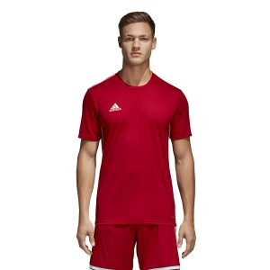 חולצת אימון אדידס לגברים Adidas Core 18 JSY - אדום