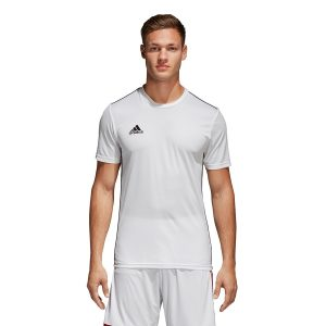 חולצת אימון אדידס לגברים Adidas Core 18 JSY - לבן