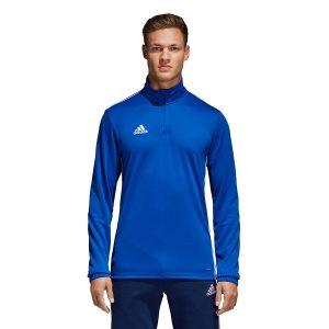 ביגוד אדידס לגברים Adidas Core 18 TR Top - כחול
