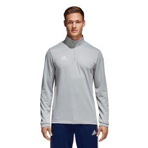 ביגוד אדידס לגברים Adidas Core 18 TR Top - אפור