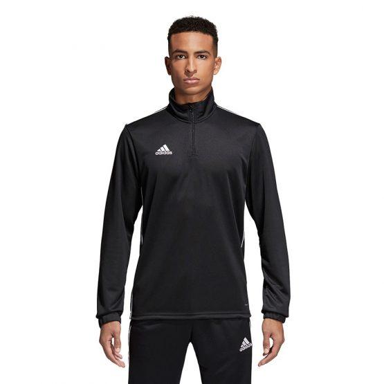 ביגוד אדידס לגברים Adidas Core 18 TR Top - שחור