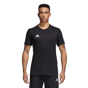 ביגוד אדידס לגברים Adidas Core 18 Tee - שחור