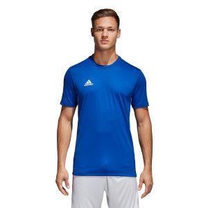 ביגוד אדידס לגברים Adidas Core 18 Tee - כחול