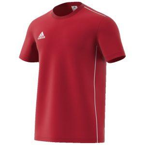 חולצת אימון אדידס לגברים Adidas Core 18 - אדום