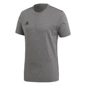 חולצת אימון אדידס לגברים Adidas Core 18 - אפור
