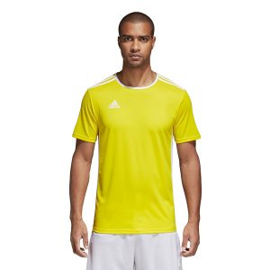 ביגוד אדידס לגברים Adidas Entrada 18 JSY - צהוב
