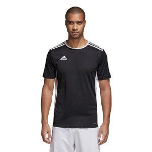 ביגוד אדידס לגברים Adidas Entrada 18 JSY - שחור