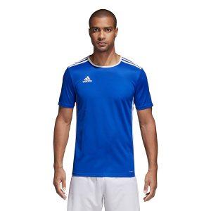 חולצת אימון אדידס לגברים Adidas Entrada 18 JSY - כחול