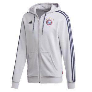 ביגוד קבוצות אדידס לגברים Adidas FC Bayern FZ DH - לבן