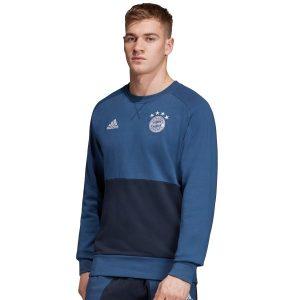 ביגוד קבוצות אדידס לגברים Adidas FC Bayern SSP CR - כחול
