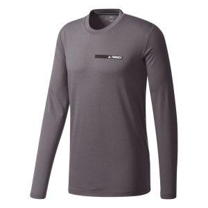 חולצת אימון אדידס לגברים Adidas Felsblock - אפור