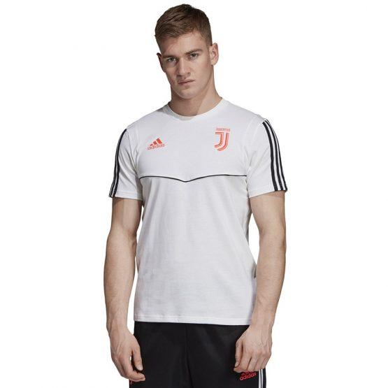 ביגוד קבוצות אדידס לגברים Adidas Juventus Tee - לבן