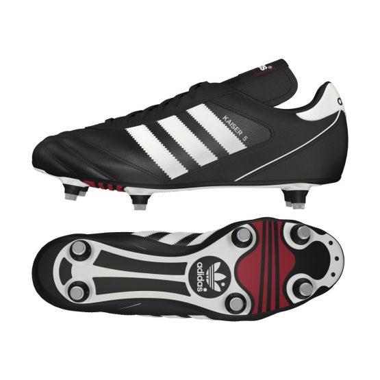 נעלי קטרגל אדידס לגברים Adidas   Kaiser 5 Cup  - שחור/לבן