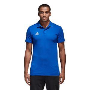ביגוד אדידס לגברים Adidas Koszulka  Condivo 18 CO Polo  - כחול