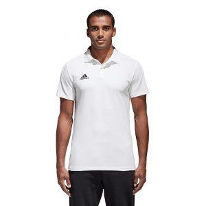 ביגוד אדידס לגברים Adidas Koszulka  Condivo 18 CO Polo  - לבן