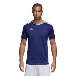 חולצת אימון אדידס לגברים Adidas Entrada 18 JSY - כחול כהה