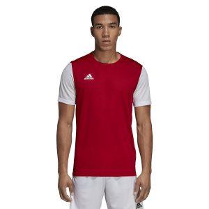 ביגוד אדידס לגברים Adidas Estro 19 JSY  - אדום