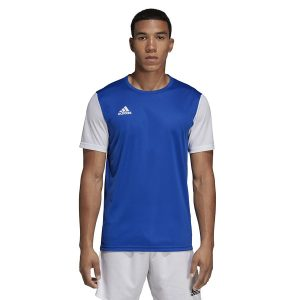 ביגוד אדידס לגברים Adidas Estro 19 JSY  - כחול