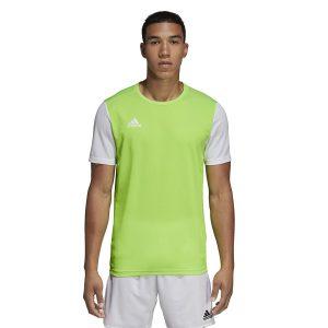 ביגוד אדידס לגברים Adidas Estro 19 JSY  - ירוק בהיר