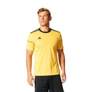חולצת אימון אדידס לגברים Adidas Squadra 17  - צהוב
