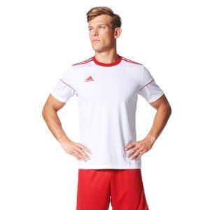 חולצת אימון אדידס לגברים Adidas Squadra 17  - לבן