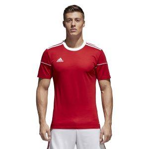 חולצת אימון אדידס לגברים Adidas Squadra 17  - אדום