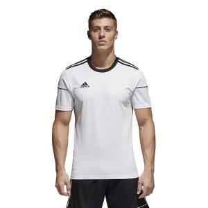 ביגוד אדידס לגברים Adidas Squadra 17  - לבן/שחור