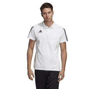 ביגוד אדידס לגברים Adidas TIRO 19  - לבן